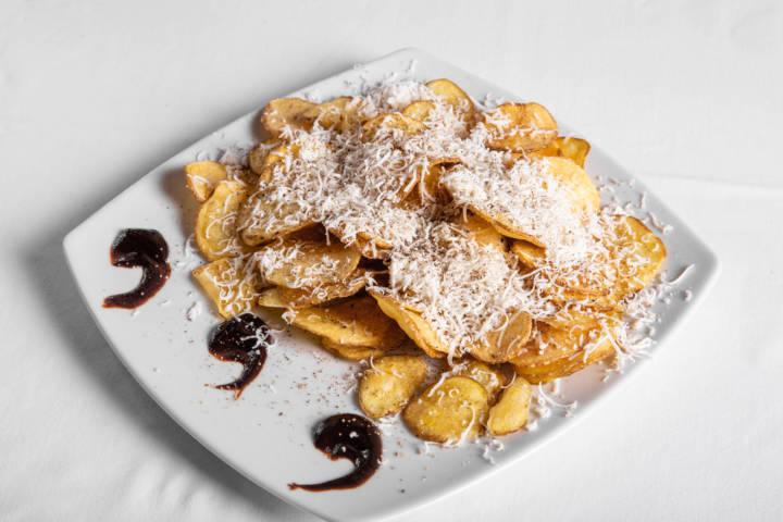 Crispy Chips Cacio e Pepe